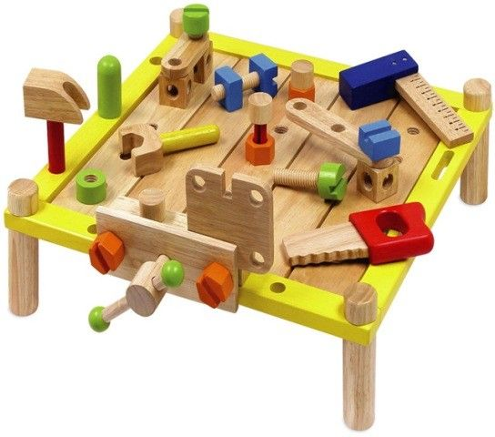 I'm Toy - Tool Activity Work Bench  This could be Hours of fun with this busy bench  #entropywishlist #pintowin