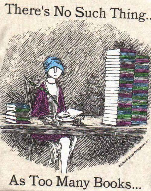 Never too many books