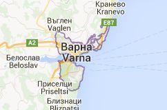 Map of varna bulgarien Varna CELINE