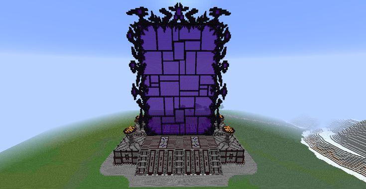 Demon's Gate  Minecraft wallpaper, Amazing minecraft, Minecraft