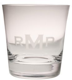 Rolf Glass Personalized Double Old Fashioned Glass