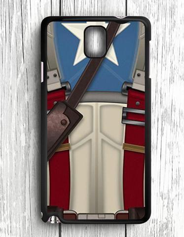 Captain American Shild Superheroes Samsung Galaxy Note 3 Case