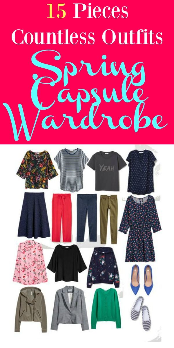 H&M Spring Capsule Wardrobe