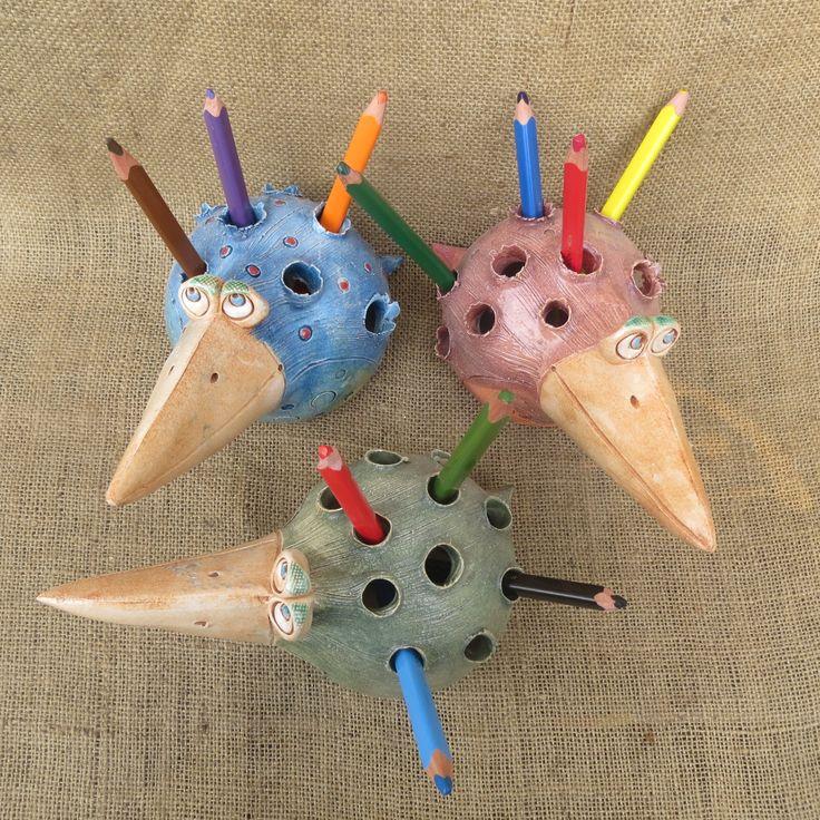 keramický pták tužkovník 2                                                                                                                                                                                 Mehr