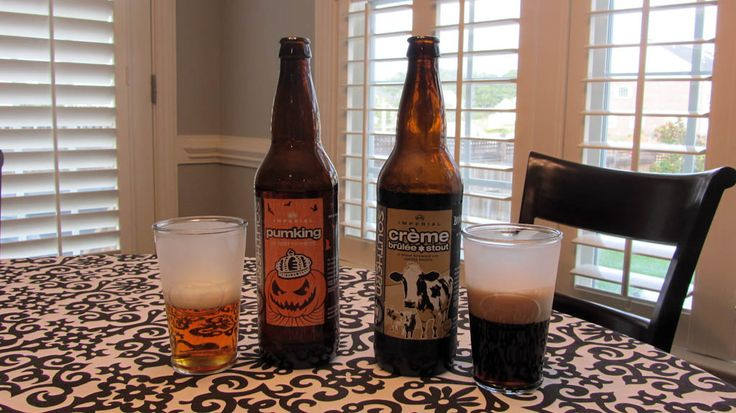 "Fister's Frankenbeers: Southern Tier's Creme Brulee + Pumpking ""The Fister Brulee"""