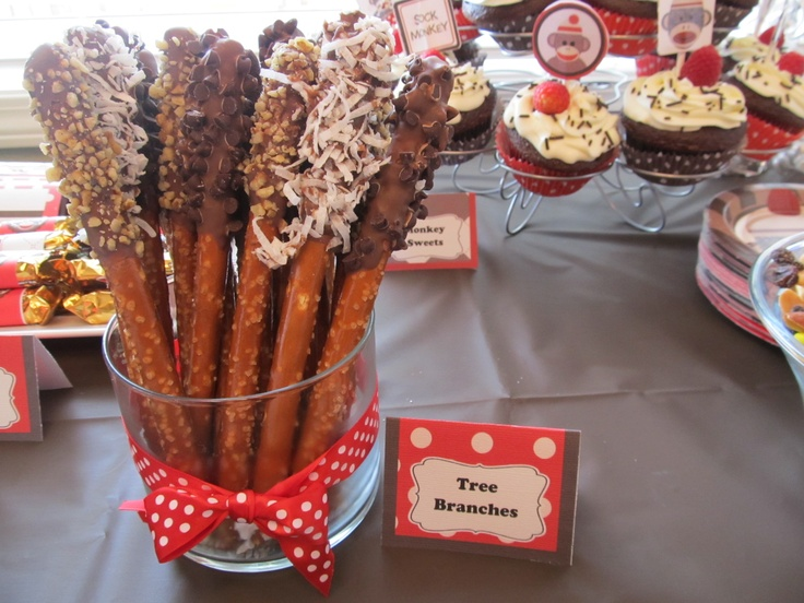 Sock Monkey Food Ideas And Tent Cards