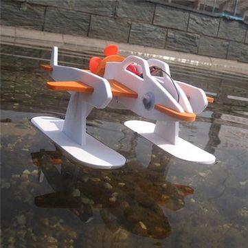 DIY Technology Invention Electric Flying Fish Robot Assembly Model Kit Sale - Banggood.com