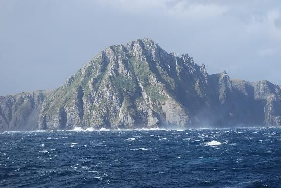Cape Horn, Chile..I sailed around Cape Horn in 40' seas!  It was fantastic!!!!