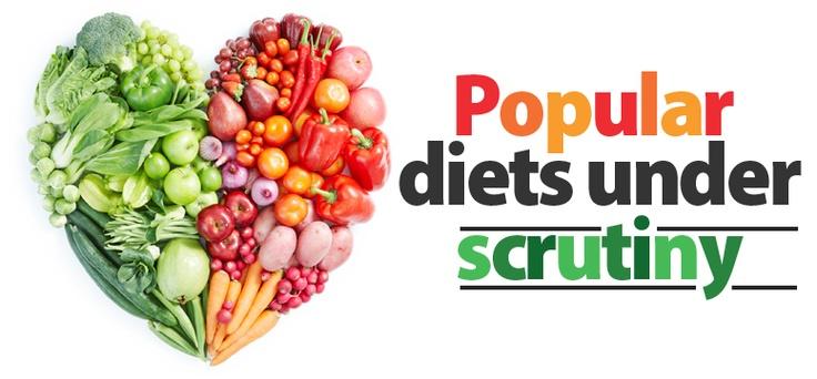 Popular #Diets under scrutiny It's My Health #health #food