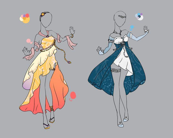 .::Outfit Adopt Set 1(CLOSED)::. by Scarlett-Knight.deviantart.com on @deviantART