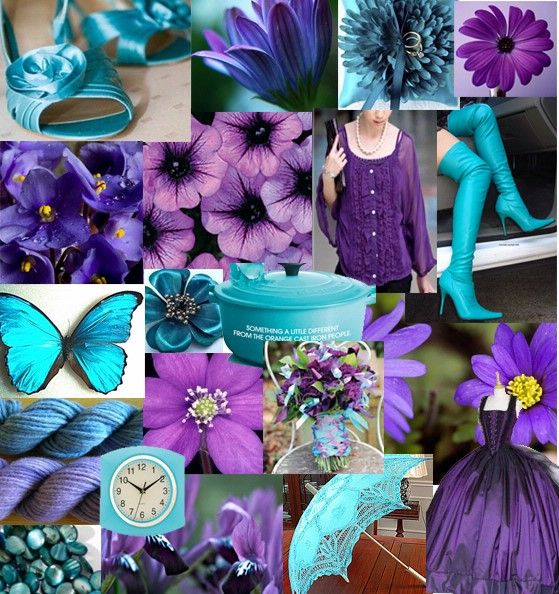 Best Ideas For Purple And Teal Wedding: Purple And Teal