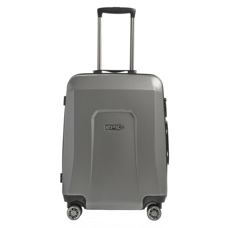 Mittlerer #Koffer EPIC HDX Hexacore bei Koffermarkt: ✓Farbe dark grey ✓4 Rollen ✓64x46x24 cm ✓3,4 kg ✓69 Liter Volumen ⇒Jetzt kaufen