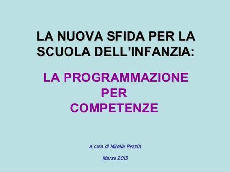 Programmazione per competenze