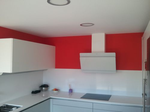 colores para pintar las paredes de una cocina