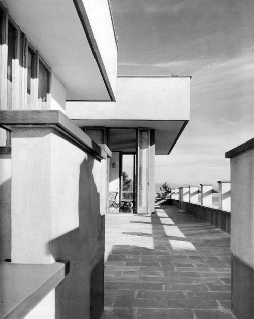 ignazio gardella - villa castelli, arenzano, italy 1957-61