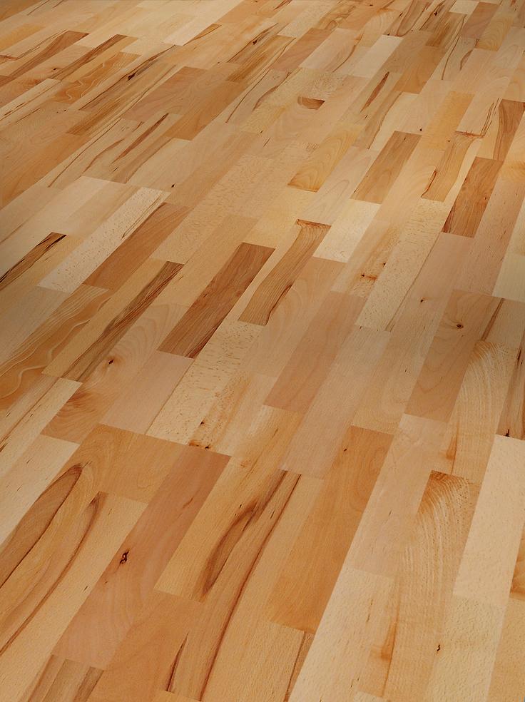 1518246 Parador Parkett Basic Schiffsboden Buche rustikal matt lackiert
