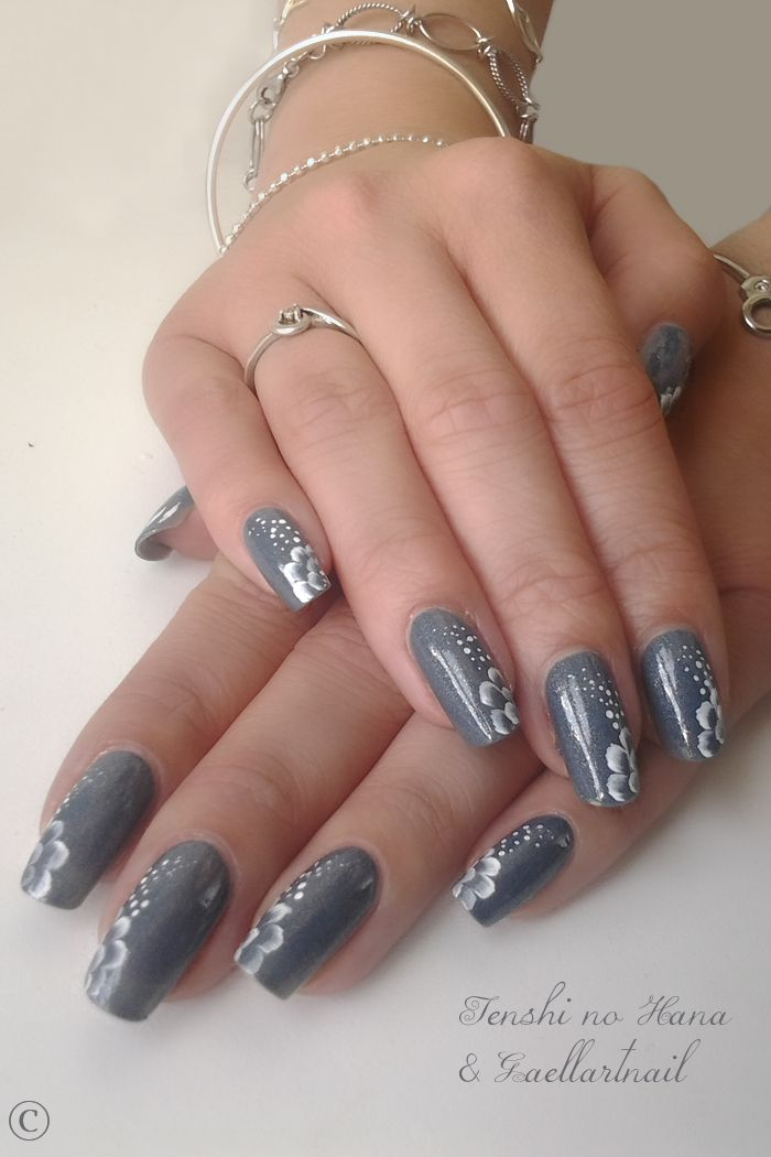 208 Best Coffin Shaped Nails With Design Images On Pinterest | Nail Design Nail Decorations And ...