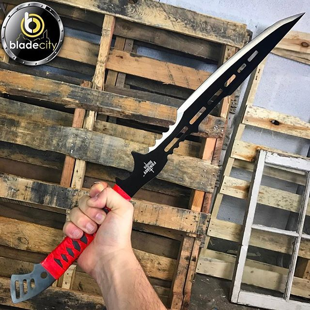 Rate this ninja sword 1-10 . Find it on our store www.Blade-City.com or click the website link on our page @blade.city search 'Ninja' . ⚔ Use code Blade20 at checkout ⚔ _____________________________ #knife #knifecommunity #knifestagram #knifepics #knifelife #knifegasm #knifecollector #knifecollection #knifefanatic #knifeaddict #knifeaddiction #csgoknife #tacticalknife #survivalknife #bladeporn #bladelife #knifenut #knifenuts #knifeobsession #karambit #knivesdaily