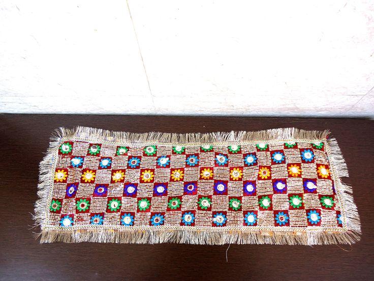 Mata ki chunri for navratri puja - Fancy net fabric Indian puja chunni - puja supply - red small dupatta - Hindu idol worship - vedi mat by craftcoloursindia on Etsy