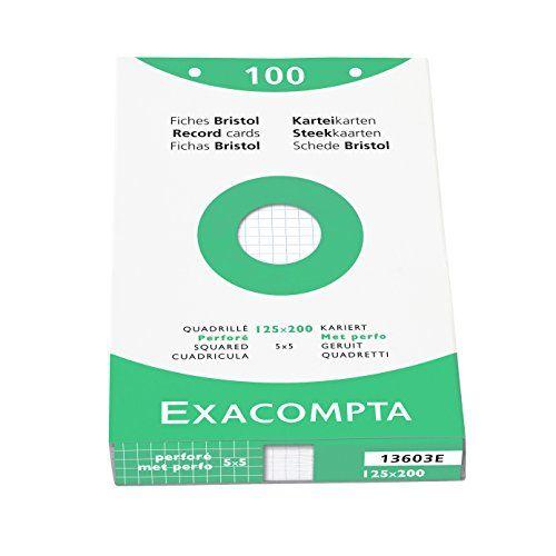 Exacompta 13603E Etui 100 Fiches Bristol Blanc 125/200 5 ... https://www.amazon.fr/dp/B001ARZCKK/ref=cm_sw_r_pi_dp_x_0CGJybVXZBC7Y