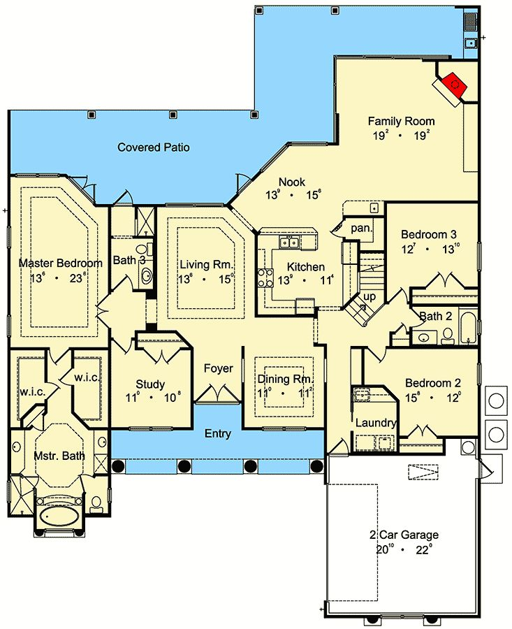 Spacious and Impressive - 6485HD | Architectural Designs - House Plans