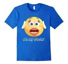 More people comment on this shirt when I wear it than any other. Oh My Gosh! Shocked Emoji Emoticon Tshirt https://www.amazon.com/dp/B076Q9NZ88/ref=cm_sw_r_pi_dp_U_x_nfEtAbT9058E2