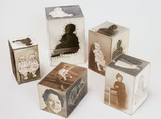 Inspiration.  Combination of photography, printmaking, image transfer, hand sewing and sculpture. Artist: Lisa Kokin