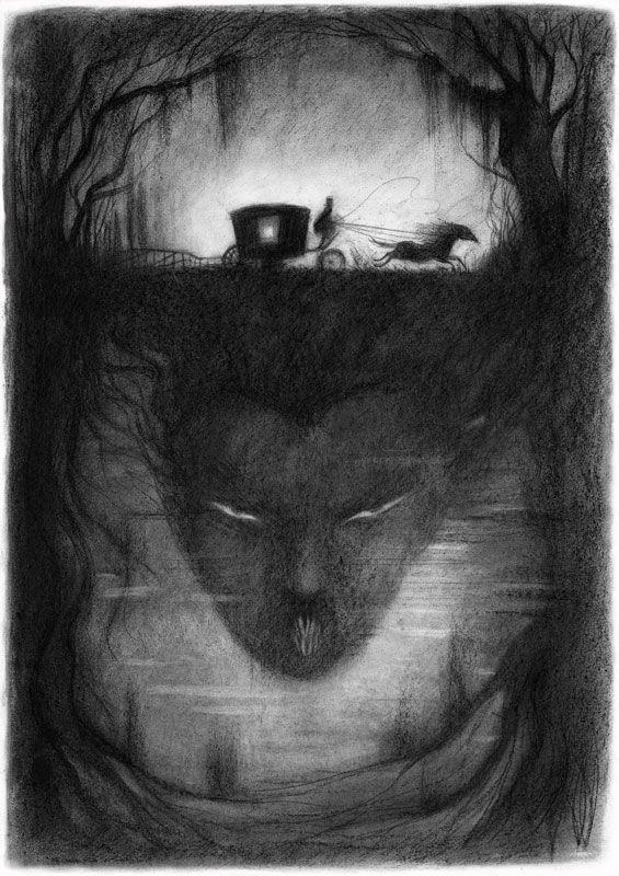 Ana Juan ... illustration for Camilla