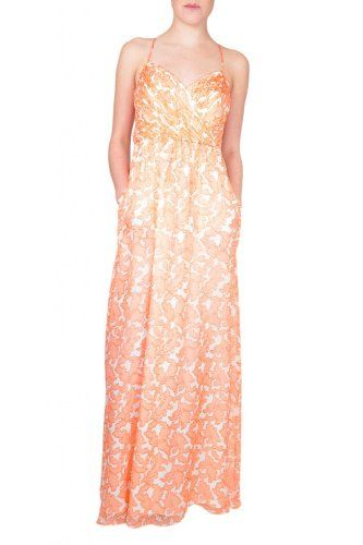 Maxi Dresses  - Pin It :-) Follow Us :-))    CLICK IMAGE TWICE for Pricing and Info :) SEE A LARGER SELECTION of maxi dresses  at  http://azdresses.com/category/dress-categories/maxi-dress/  - women, womens fashion, dresses, dress, wear to work , gift ideas, spring, summer  - Shoshanna Mia Maxi Dress in Coral Reef « AZdresses.com