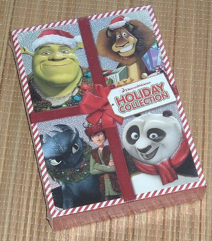 NEW Dreamworks Holiday Collection Limited Edition 4 Movie