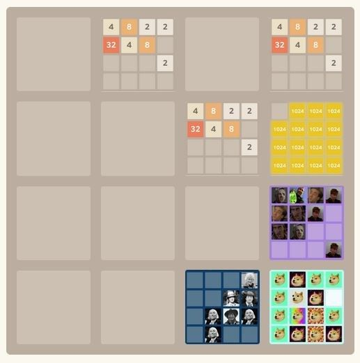 Meta | Community Post: 25 Fantastic Themed Versions Of The 2048 Game To Fuel Your Addiction