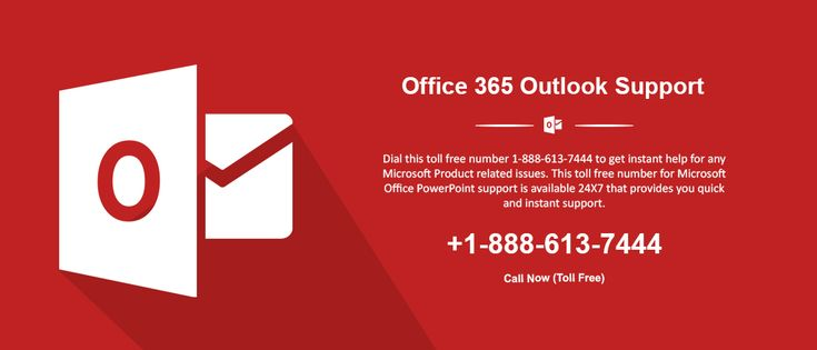 Microsoft Office Outlook Tech Support Phone Number 1-888-613-7444 is a toll-free number in USA and Canada. If you are facing a problem Outlook mail is not working and mail is not sending and receiving then dial for Office 365 Outlook. Our Tech Support team is available for any time and resolves all issue for Microsoft product.