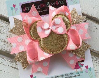 Miss Mouse Bow arco de ratón de Miss por DarlingLittleBowShop