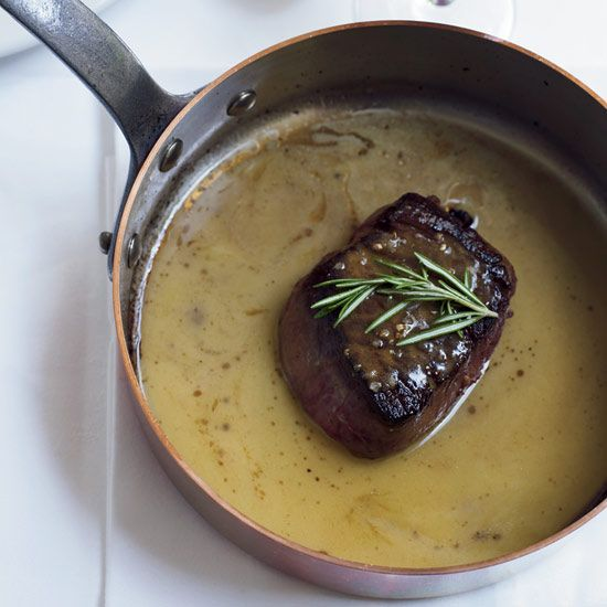 Beef Tenderloin Steaks with Celery Root Gratin // More Beef Recipes ...