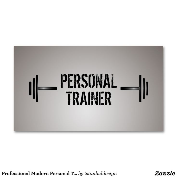 29 best Business Cards for Personal Trainers images on Pinterest ...