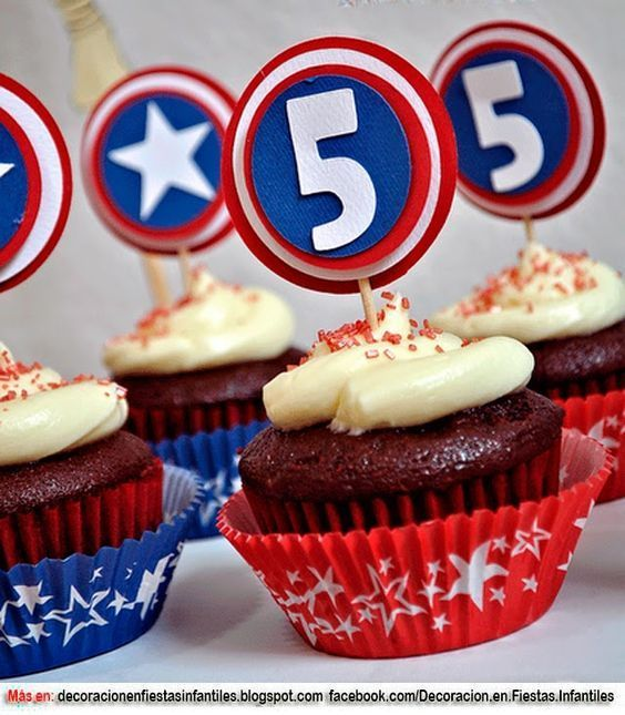 Centro De Mesa Capitán América: 17 Mejores Imágenes De Cumpleaños De River Para Niños En