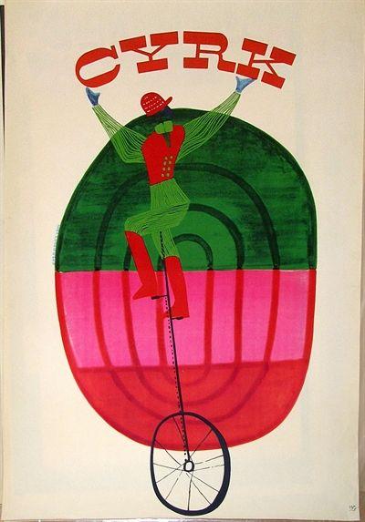 Circus Cyrk by Anna Kozniewska (Poland, 1961)