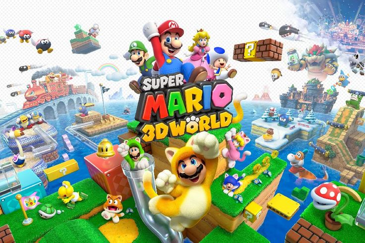 DIY frame Cartoon Super Mario 3D World Game Poster Silk Fabric Poster Print Great Pictures On The Wall For Home Decor 21UUYUYU