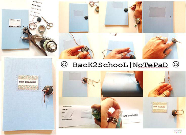 BaCk@ScHooL | DIY NoTePaD :-)