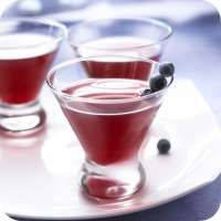 Cranberry Blueberry Cosmopolitan - Vodka Cocktail Drink Recipe