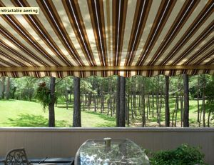 Waterproof awnings vs. Water Resistant: What is the difference? http://www.awningresources.com/ContractorProfile.aspx?id=8