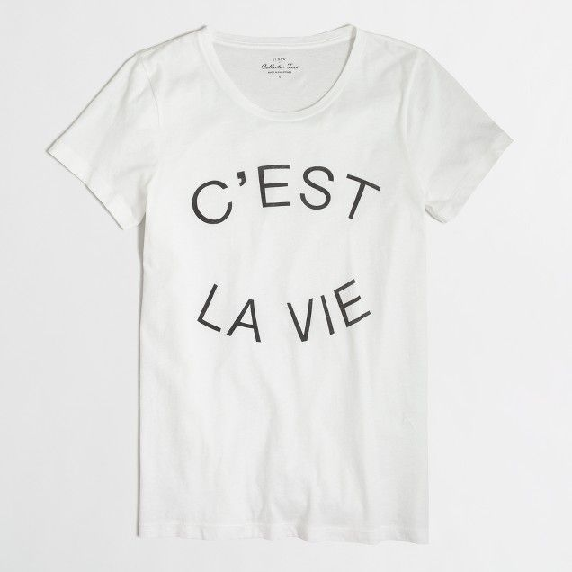 C'est la fucking vie motivation quote in french unisex crewneck sweatshirt