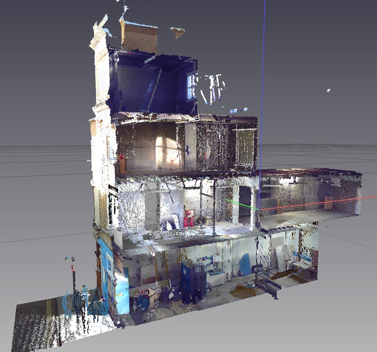 Point Cloud Scan of Tabard Street