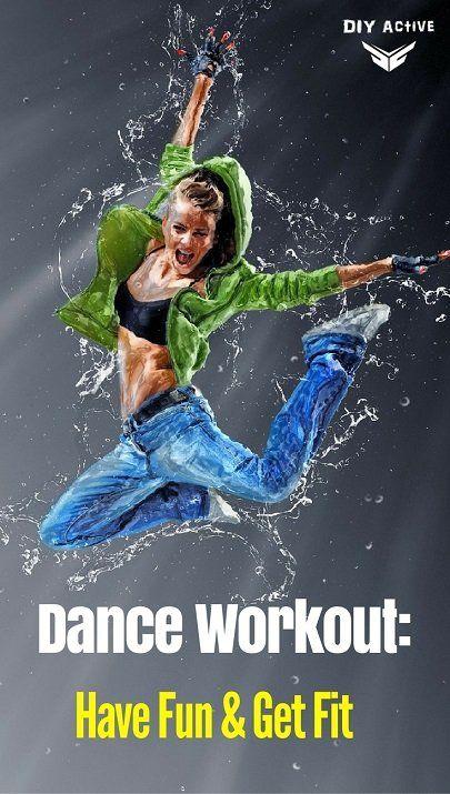 Dance Workout: Have Fun, Blast Calories, Get Fit via @DIYActiveHQ #dancing #danceworkout