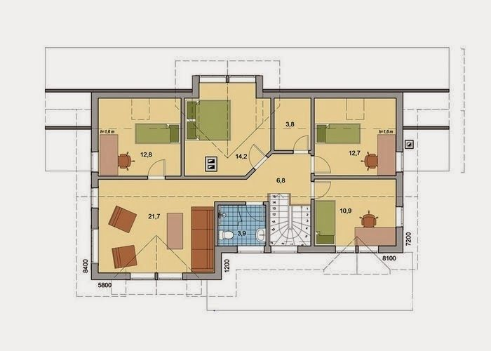 Planos casas de madera prefabricadas planos casa madera - Casas de maderas prefabricadas ...