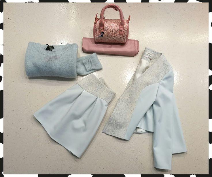 Completo NafNaf, maglia Alysi e borsa Lollipops Paris