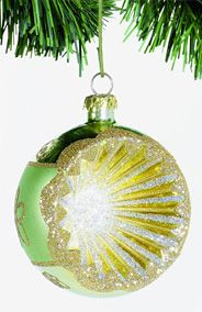 Star Burst Christmas Bauble