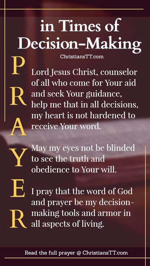 As we make our decision, may Your presence Lord, fill our hearts and mind that we may, in whatever state of our lives, be guided in love, to go in sharing,