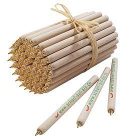 houten pennen van groenekantoorartikelen.nl