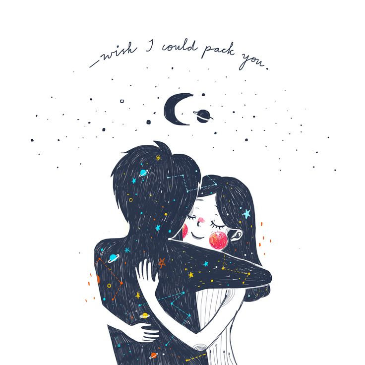 """My nine Is your noon; I'm just packing now Your winter My June; Wish I could pack you. """"He's leaving"""" by Lang Leav Illustrations of 2015 by Kathrin Honesta on Behance"""